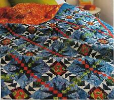 Summertime Blues Quilt quilting pattern instructions
