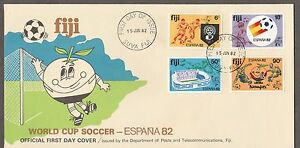 Fiji FDC World Cup Soccer Spain 82  15.6.1982