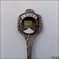 Lewes Souvenir Spoon Teaspoon (T206)