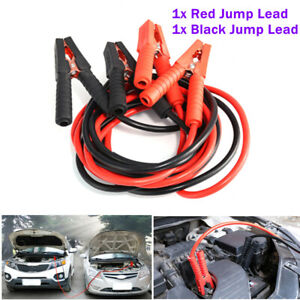 Car Battery Jump Lead Booster Cable Start Emergency Jumper Heavy Duty 2m 1000amp