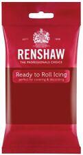 1Kg Renshaws Fondant Icing Regalice Ready to Roll Sugarpaste - 4 x 250g Packs