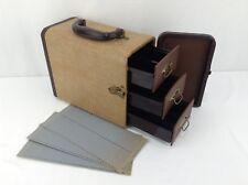 Barnett & Jaffe Slide Caring Case Vintage 1950s - Holds 300 slides