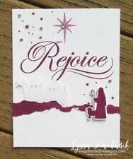 Stampin up His Light set~Rejoice~Christmas~Religious~NEW & UM