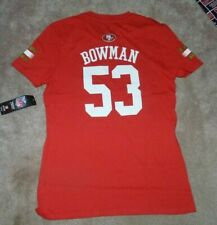 NEW NFL San Francisco 49ers Football NaVorro Bowman T Shirt Youth GIRLS 16 NWT