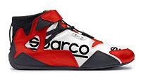 ZAPATOS SPARCO RACING NEW APEX RB-7 BLANCO-ROJO HOMOLOGADO FIA 001261