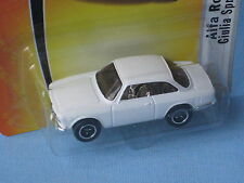 Matchbox 1965 Alfa Romeo Giulia Sprint GTA White Classic Sports Toy Model 65mm