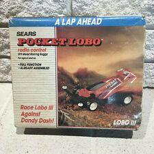 Vintage Sears Nikko Pocket Lobo lll Radio Control RC Racing Buggy