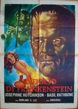 SON OF FRANKENSTEIN Italian 2F movie poster 39x55 BORIS KARLOFF R1967 Di STEFANO