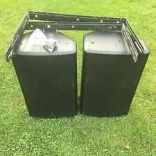 Wharfedale pro S1-12X Pair Disco PA Speakers & wall brackets (reduced to clear)