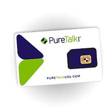 Pure Talk Universal 3-in-1 SIM - No Contract Wireless - Prepaid - GSM Compatible