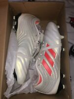 Adidas Copa Gloro 19.2 FG Men's Soccer Cleats Off White/Red D98060 Size 8 US