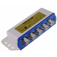 5 x Amiko Way 4 In 1 Out DiSEqC Switch Weather Cover & 2 Year Warranty