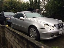 Genuine Mercedes 203 c220cdi Coupe 2003 drivers side bare door