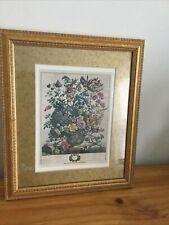 """Windsor Art Products Flowers Spring """"Flower Season"""" On Gold Leaf Frame"""