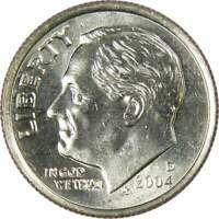 2004 D 10c Roosevelt Dime US Coin BU Uncirculated Mint State