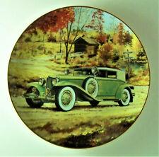 Cord 1932 125 H.P. Lycoming Phaeton Classic American Cars Plate Antique Car