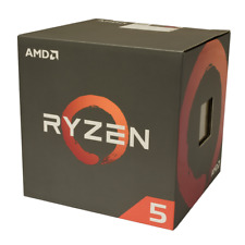 AMD Ryzen 5 1600 3.6GHz Boost CPU Six Core Twelve Thread Socket AM4 Processor
