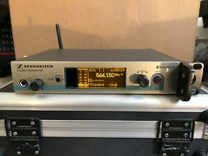 Sennheiser IEM G3 transmitter G 566-608 ew300 wireless in ear monitors G4 2000