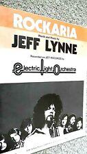 ELECTRIC LIGHT ORCHESTRA: ROCKARIA (SHEET MUSIC) ELO