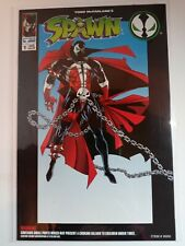 """New listing Spawn #1 1994 Todd Toys Presents""""Promises & Lies"""" Bagged & Boarded Comic Only Nm"""