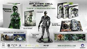 Tom Clancy´s Splinter Cell Blacklist - The 5th Freedom Edition - 100%  Neu / New