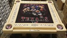 Houston Texans Football Domino Table by Domino Tables by Art