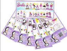 Komplettsatz Barbie SD558-SD565 mit allen BPZ aus Hongkong 🇭🇰 2016