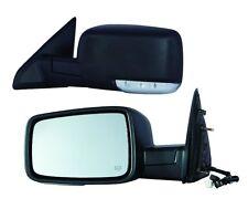 2010 2011 2012 Ram 1500 2500 Driver Side Heated Power Mirror w/Turn Signal NEW