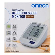 OMRON PREMIUM UPPER-ARM AUTOMATIC BLOOD PRESSURE MONITOR HEM-7322 AU WARRANTY
