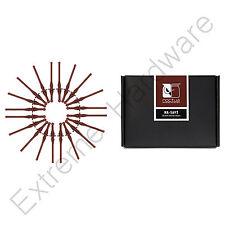 Noctua NA-SAV2 anti-vibración de bajo ruido soportes de ventilador para ventiladores de la caja del PC, paquete de 20