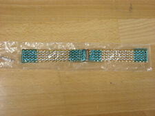 Longines wristwatch bracelet #37670 complete band with spring bars 18mm lug NOS!