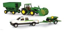 NEW John Deere Mega Hauling Set, Pickup, Gator, Tractor, Wagon, Ages 3+ 45363