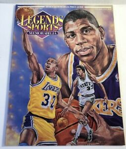 Legends Sports Memorabilia  Cards Intact Magic Johnson April 1992 Lakers
