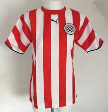 PARAGUAY 2006 S/S HOME SHIRT BY PUMA SIZE MEN'S SMALL BRAND NEW WITH TAGS