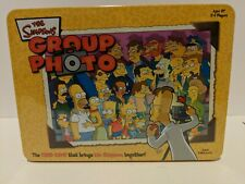 NEW The Simpsons Group Photo Card Game Factory Sealed Collectors Tin NEW