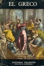 El Greco by Antonina Vallentin (hardback)