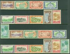 EDW1949SELL : COOK ISLANDS 1949 Scott #131-40. 2 Cplt sets Both VF MNH Cat