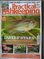 Practical Fishkeeping Spring 2017 Dwarf Stars Albino Fish Snakeheads Pond Guide