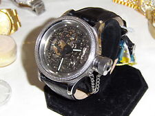 Invicta Men's 3843, Diamond Bezeled mechanical swiss made aprox. 52 m.m.w. case