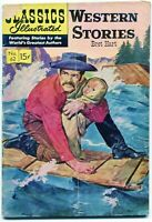 Classics Illustrated, Western Stories #62, $0.15 - 4th Ed.  HRN 137 - VG