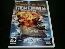 COMMAND AND CONQUER GENERALS ZERO HOUR EXPANSION PACK  PC CD