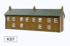 Quatre maisons Unit - Kestrel Design gmkd07 - N bâtiment plastique KIT