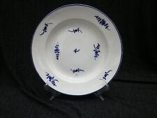 Porcelaine de Tournai assiette décor à la brindille de Chantilly XVIIIème