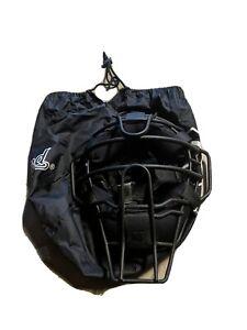 Diamond Ultra-Light Umpire Mask with Wendy Pads Black Powder Coat