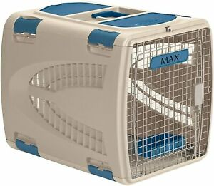 """Suncast Deluxe Pet Carrier Durable Airline Approved Dog Size 17.5"""" Tall OPEN BOX"""