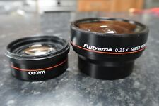 FUJIYAMA 0.25 Super fisheye Converter Lens + Macro Attachment