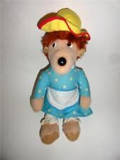 "Berenstain Bears Plush Mama Bear PBS Toy Knickerbocker Vintage 1977 doll 15"""