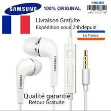 Ecouteurs Intra-auriculaires Kit Piéton d'origine Samsung EHS64AVFWE - Blanc