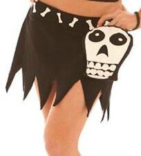 Glow in the Dark Bone Skeleton Skull Day of Dead Pirate Booty Purse Mini Skirt M