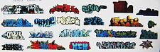 HO COLORFUL GRAFFITI DECALS ASSORTMENT 72  FREE SHIPPING DOMESTIC